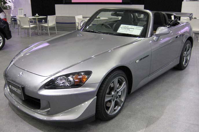S2000 AP2型 Type-Sのエクステリア