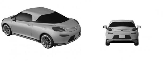 トヨタ新型スポーツカーのリヤのレンダリング画像