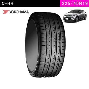 C-HRにおすすめのYOKOHAMA ADVAN Sport V105 225/45R19 96Y XLのタイヤ