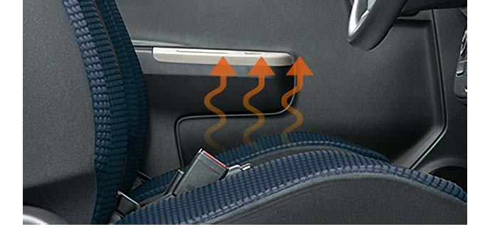 4WD車に設定されるシートヒーター