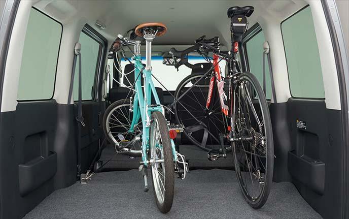自転車の積載に便利なサイクルホルダーベルト