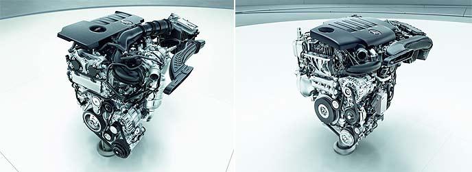 新型CLAの心臓部に配置される「M260」と「OM654q」
