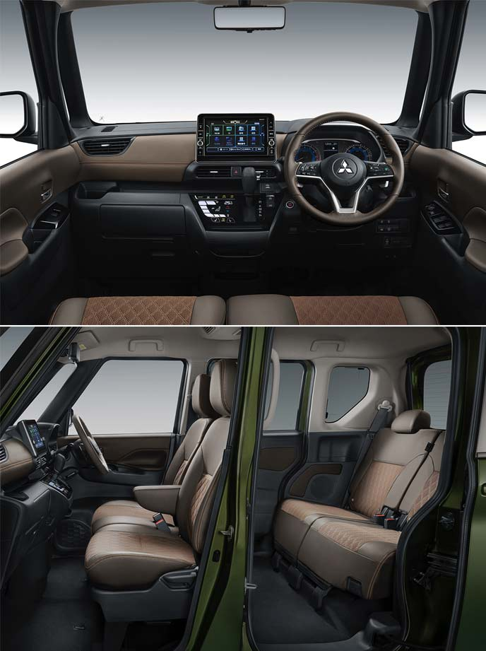 スーパーハイト軽ワゴンコンセプトの内装