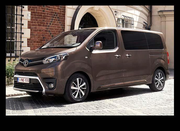 ヨーロッパ市場で人気のトヨタ商用車プロエース