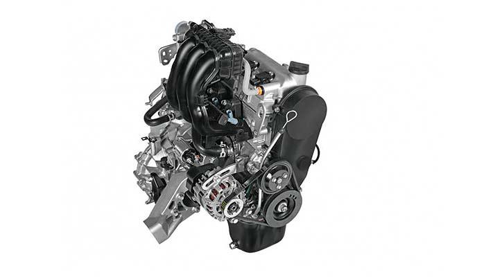 改良新型アルトのエンジン