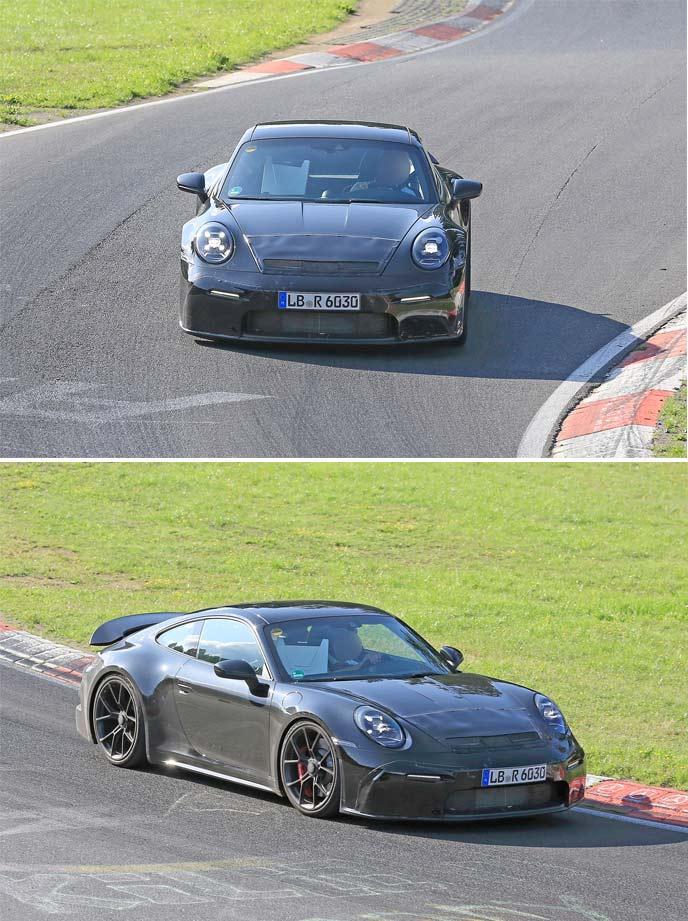 「911 GT3ツーリングパッケージのプロトタイプ