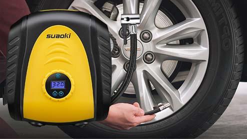 車のエアコンプレッサー14選 通販でも購入できるおすすめのタイヤ空気入れ
