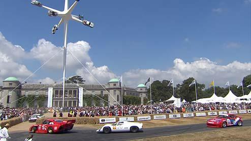 グッドウッド・フェスティバル・オブ・スピードとは世界が憧れる自動車の祭典