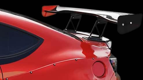 <GTウイングの効果>メリットとデメリットや車検に通る保安基準・人気商品