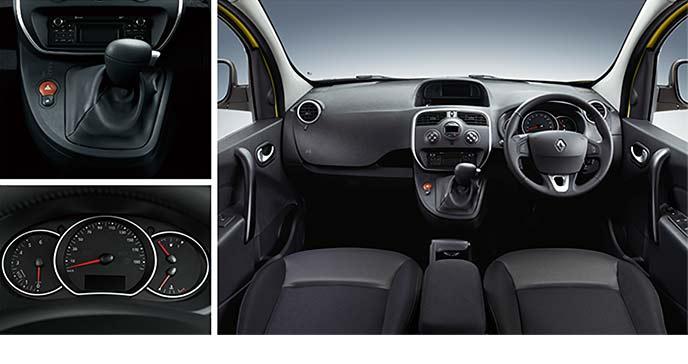 Renault新型カングー ZEN EDCのコックピット