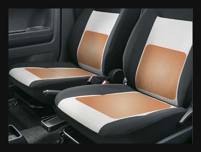 ピクシスエポックのG【SA 3】に標準装備の運転席&助手席のシートヒーター