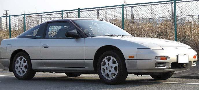 中古市場でも数の多い180SX中期型。