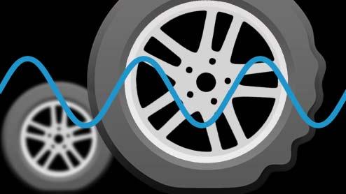 スタンディングウェーブ現象でタイヤがバーストする!発生するしくみと対処法は?