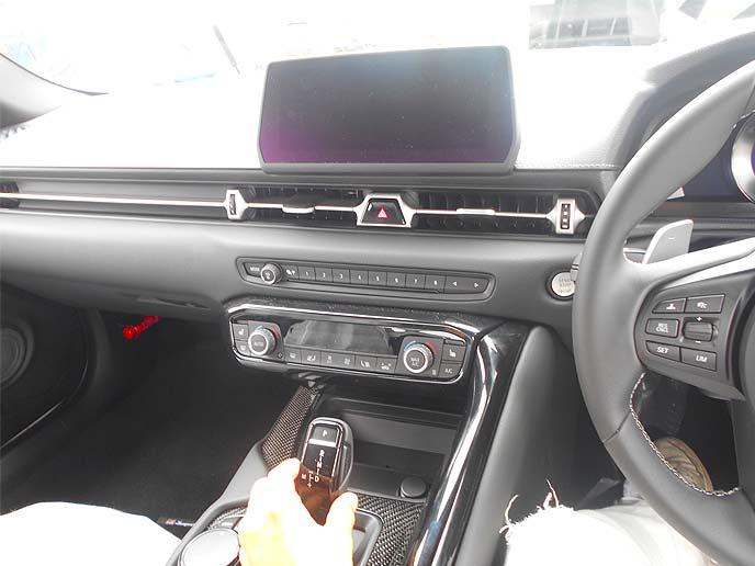 新型スープラのトヨタ・セーフティ・センス