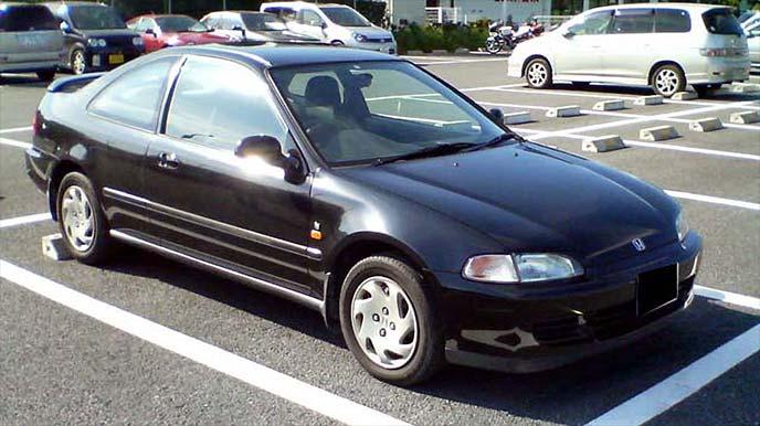 ホンダ シビッククーペ EJ1型(1992-1996年)