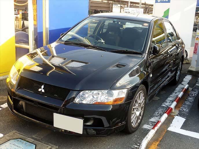 三菱・ランサーエボリューションVII CT9A(2001年発売)