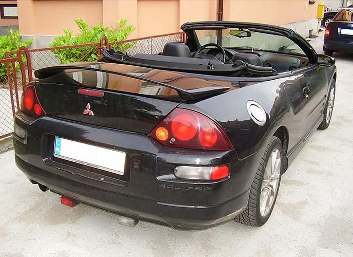 三菱エクリプス3代目スパイダー欧州仕様(1999~2006年)。