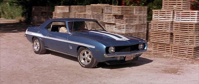 人気の高い1969年式シボレー・カマロ