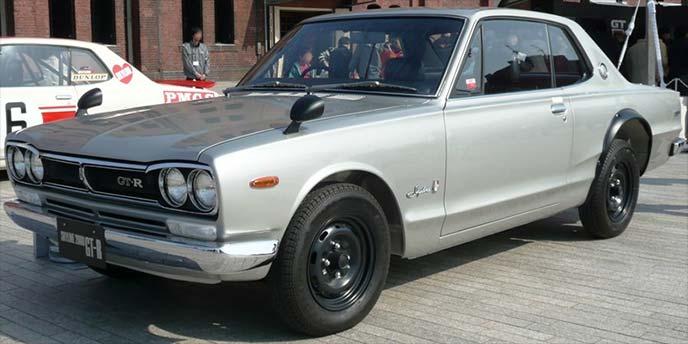 日産スカイラインGT-R  KPGC10型(1970~1972)