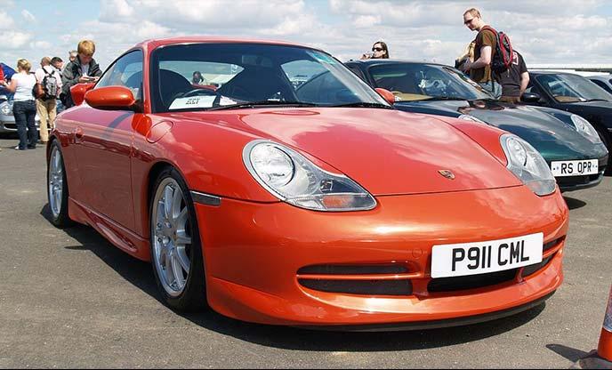 ポルシェ911 996型GT3 RS