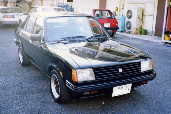 いすゞ ジェミニZZ PF60型のエクステリア