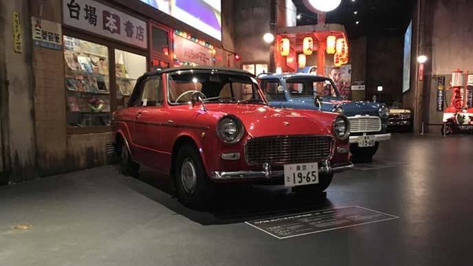 トヨタ パブリカコンバーチブルUP10S型のエクステリア