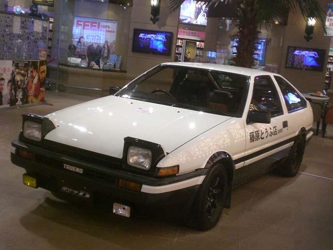 トヨタ AE86トレノのエクステリア
