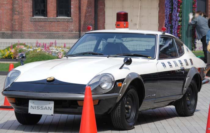 日産 フェアレディ 240 ZGの警察車両のエクステリア