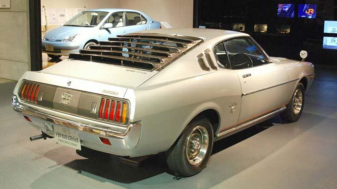 トヨタ セリカ LB2000GT(1973年)のリアビュー