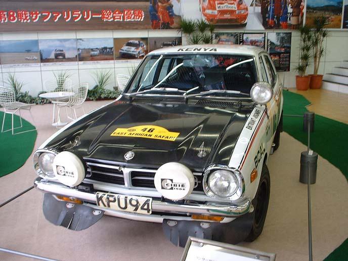 三菱 ランサー1600  GSRラリーカーのエクステリア