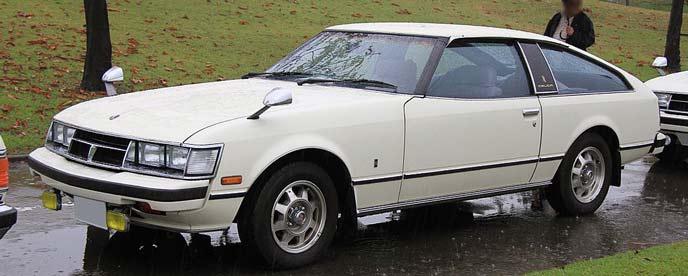 トヨタ セリカXX A40/A50型のエクステリア