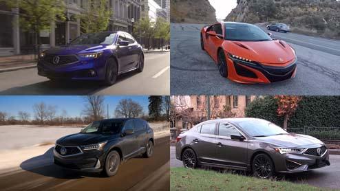 アキュラの車種一覧 ホンダの海外専売ブランドが販売する現行モデル7車種