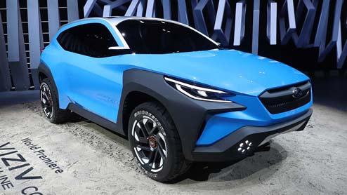 スバルの新型ヴィジヴ アドレナリン コンセプトは次期XVか 新型モデルの可能性も考察