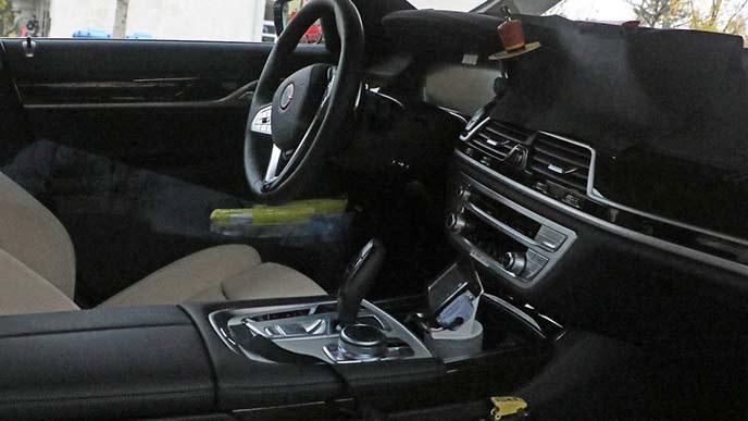 BMW7シリーズ EVモデルのインテリア