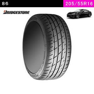 86におすすめのBRIDGESTONE POTENZA Adrenalin RE004 205/55R16 91Wのタイヤ