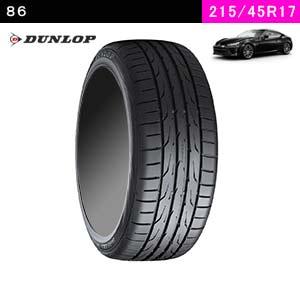86におすすめのDUNLOP DIREZZA DZ102 215/45R17 91W XLのタイヤ
