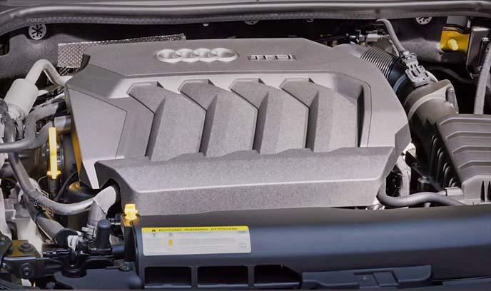 新型アウディA1に搭載のTFSIエンジン