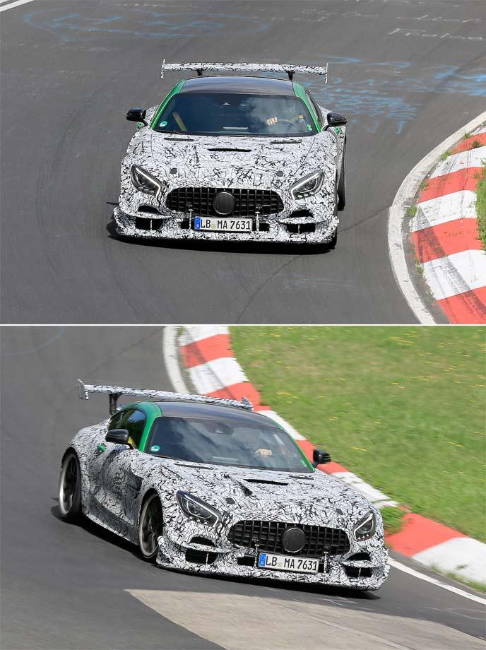 AMG GT Rブラックシリーズの最新プロトタイプ