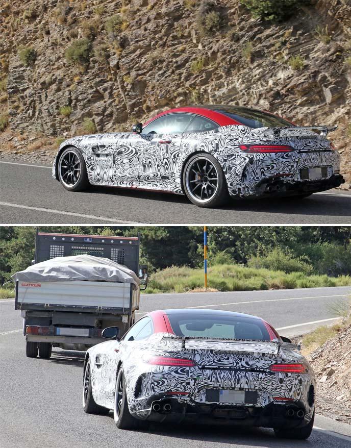 AMG GT Rブラックシリーズのプロトタイプ