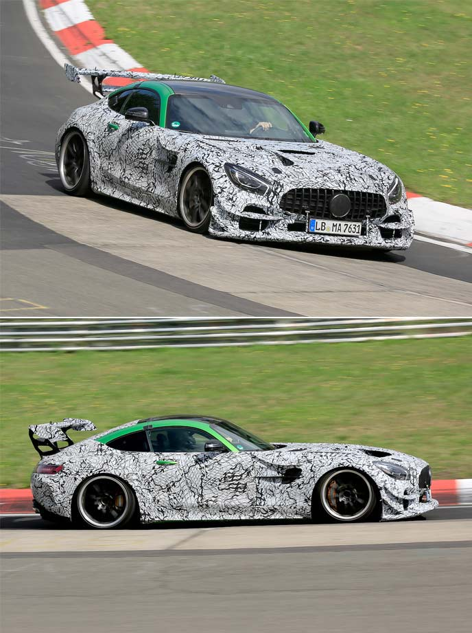 AMG GT Rブラックシリーズの最新開発車両