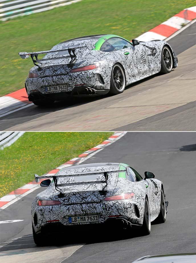 AMG GT Rブラックシリーズの開発車両