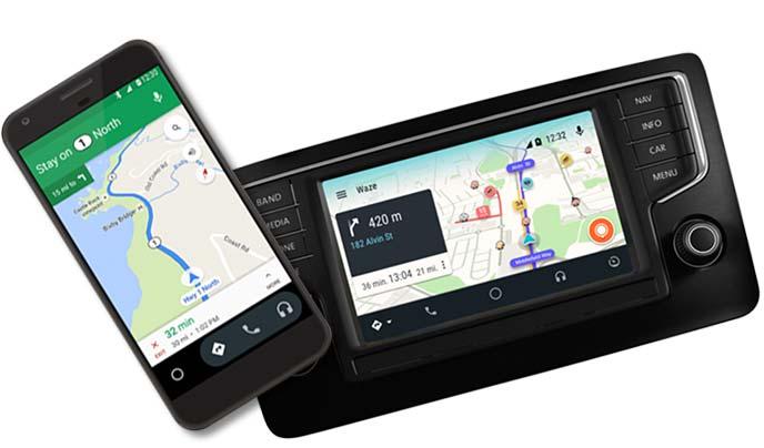 Android Auto(アンドロイドオート)の画面イメージ