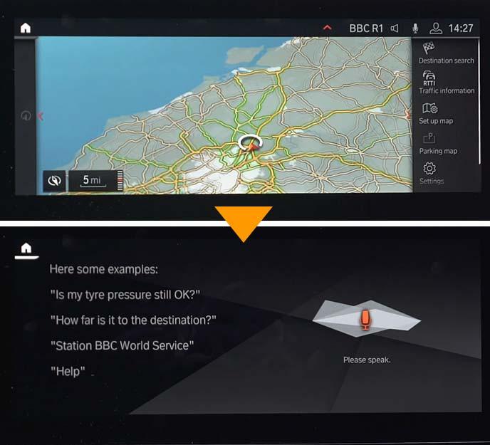 新型7シリーズに搭載された「BMWインテリジェントパーソナルアシスト」Monitorパネル