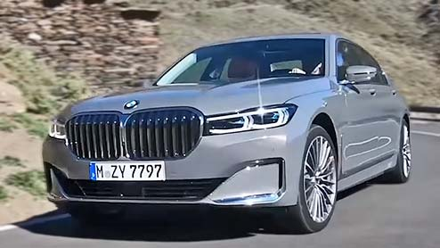 BMW 7シリーズがマイナーチェンジでグリルをワイド化 PHVは航続距離を延長