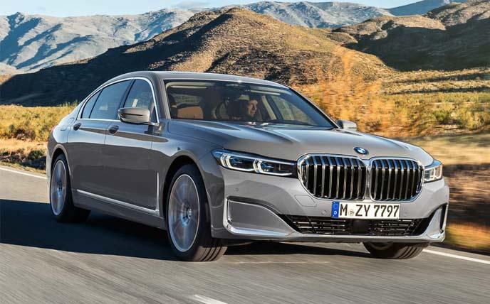 BMW7シリーズ改良新型530馬力ツインターボのエクステリア