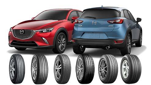 CX-3のタイヤおすすめ~18インチ純正サイズのSUV/低燃費/コンフォートタイヤ