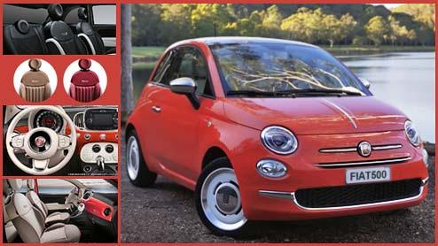 フィアット500の内装はボディカラーごとに異なる!チンクエチェント限定車も紹介