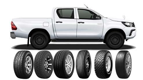 ハイラックスのタイヤおすすめ~A/TやM/Tなどの4WD・SUV用タイヤ12選