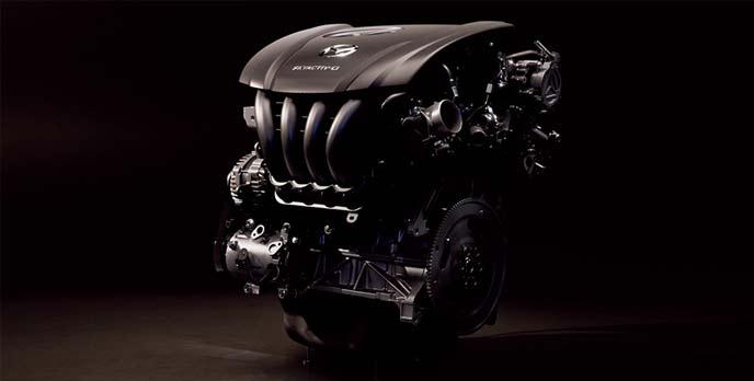 ガソリンエンジンSKYACTIV-G
