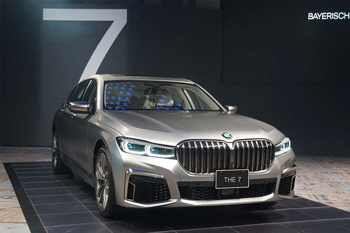 BMW改良型「7シリーズ」
